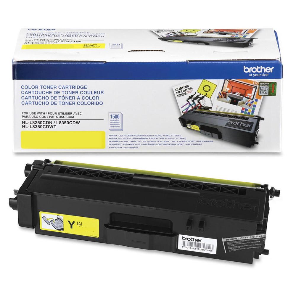 Brother Colour Laser Toner Cartridges TN341Y